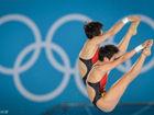 中国女双跳台夺冠