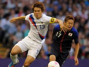 男足韩国2-0胜日本获铜牌
