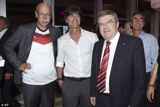 勒夫和两位大佬