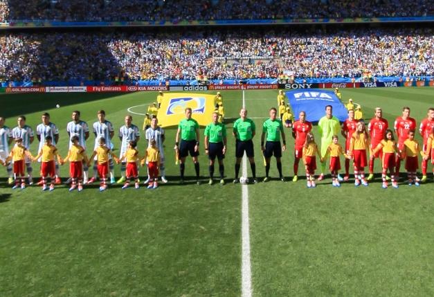 阿根廷vs瑞士开场仪式
