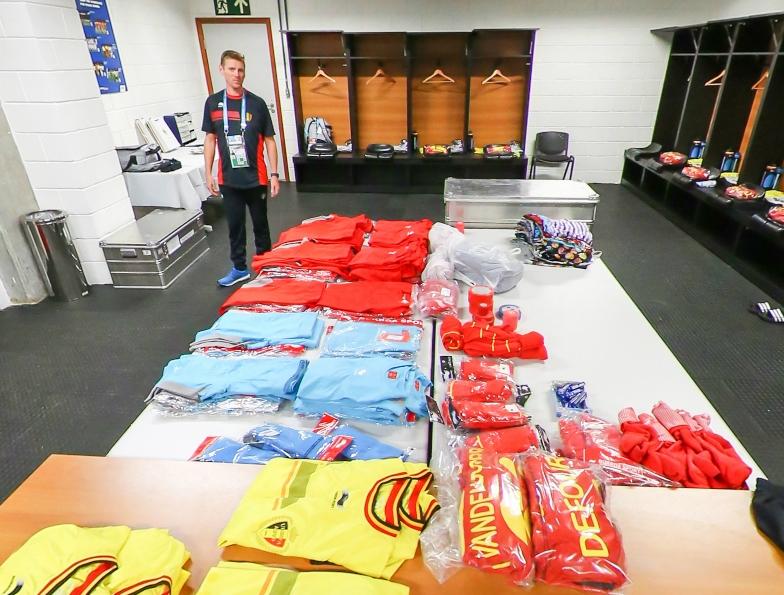 淘汰赛比利时更衣室一览