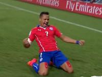 进球视频-智利禁区围攻混战 桑切斯冷静推射拔头筹