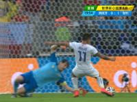 进球视频-智利精妙反击 妖锋冷静扣过卡西破门