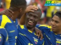 进球视频-厄瓜多尔任意球造杀机 锋煞头槌破僵局