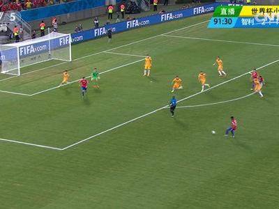 视频录播-世界杯B组第1轮 智利VS澳大利亚下半场