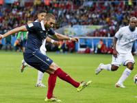 世界杯E组小组赛 法国v洪都拉斯下半场