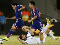世界杯C组次轮 日本VS希腊下半场