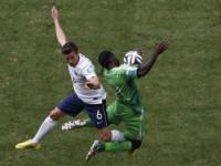 世界杯1/8决赛 法国VS尼日利亚上半场
