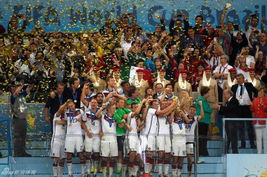 德国队改写世界杯多项历史纪录