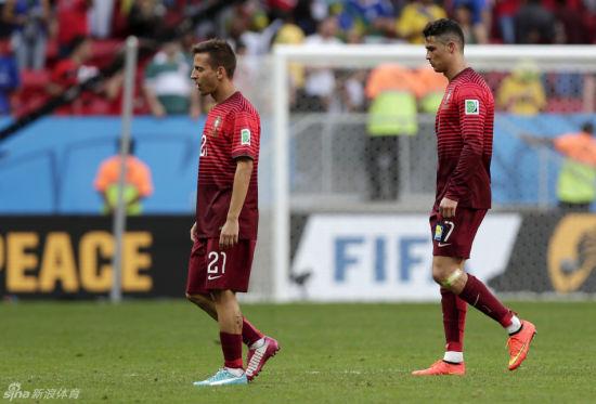 葡萄牙球员失落离场