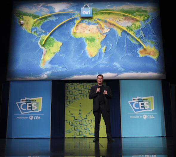 诺基亚CEO CES演讲
