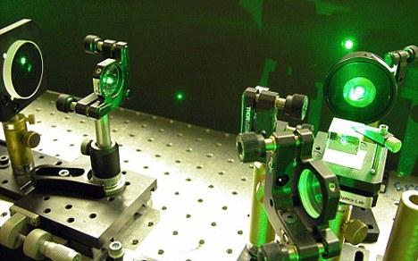 利用激光移动大型物体的距离可以超过以前任何时候