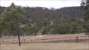 人们观测到一个球形闪电正沿着一道金属栅栏向山坡下滚动