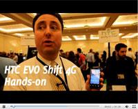 HTC Shift Evo 4G手机上手