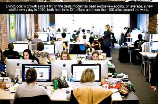 图4:Livingsocial在华盛顿特区的办公室
