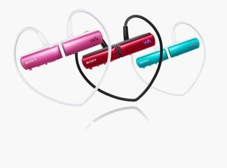 索尼头戴式防滴溅Walkman NWZ-W252闪存音乐播放器