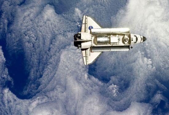 2011年2月26日,美国东部时间下午2点14分,《发现号》航天飞机正在与国际空间站进行对接。