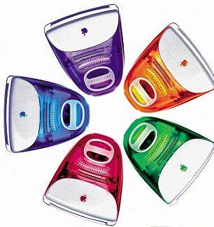 第一个彩色iMac G3系列产品