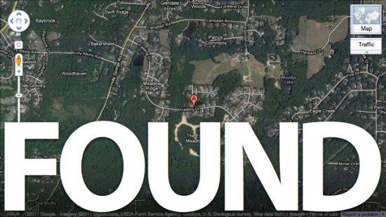 美国警方通过谷歌地图的搜索历史记录找到了犯罪嫌疑人。