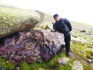 发现巨型铁陨石