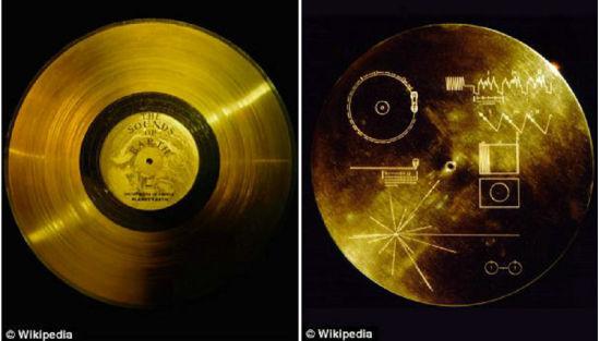 """地球的声音:""""旅行者""""号探测器搭载的""""金唱片""""上有录音,也有太阳系的相关信息"""
