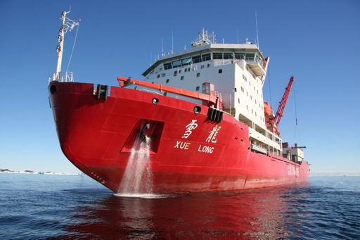 我国现有的雪龙号极地考察船
