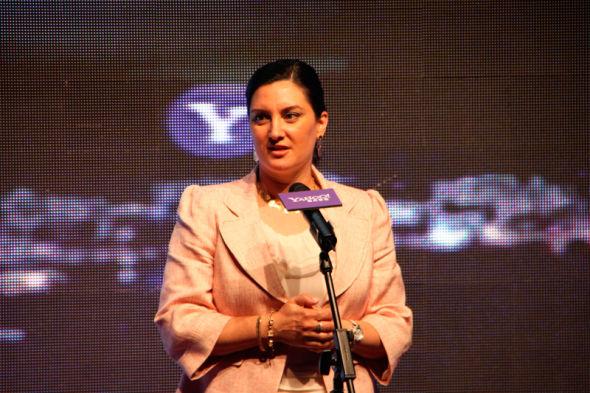 雅虎首席营销官(CMO)艾丽莎•斯蒂尔