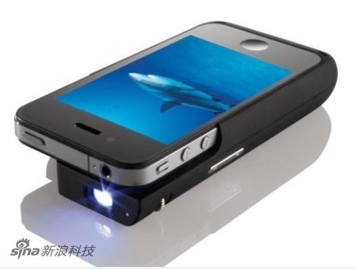 Brookstone iPhone投影配件