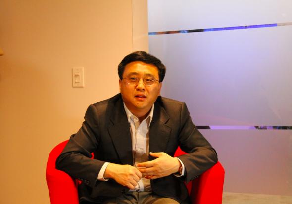微软中国董事长张亚勤