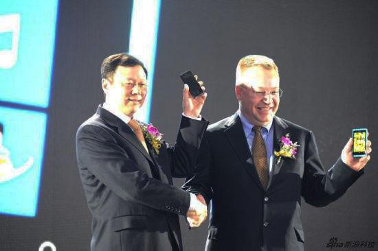 诺基亚昨天在华正式推出Lumia 800C智能机