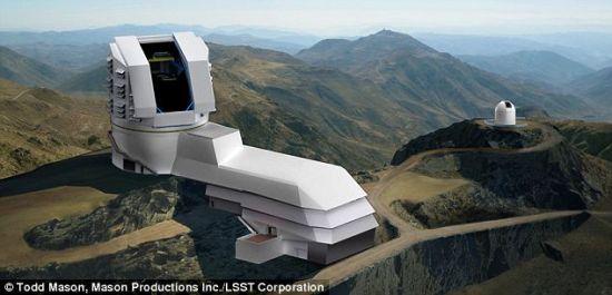 这架望远镜将落户智利北部的帕切翁山巅