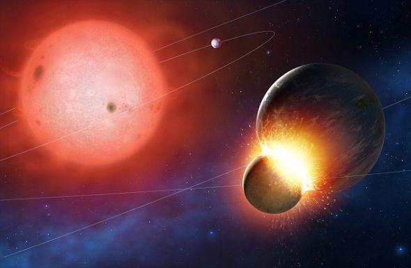 哈勃观测到白矮星每秒千吨速度吞噬行星