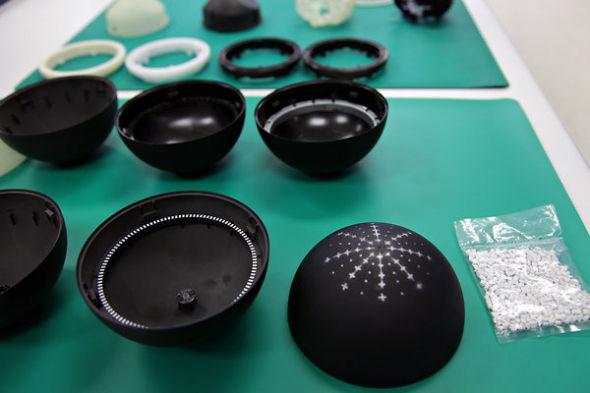 Nexus Q的圆顶可以控制音量