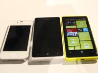 iPhone 4S/Lumia 900/920
