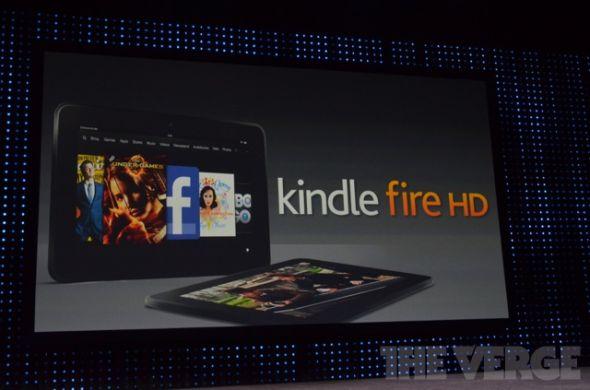 亚马逊推新平板Kindle Fire HD