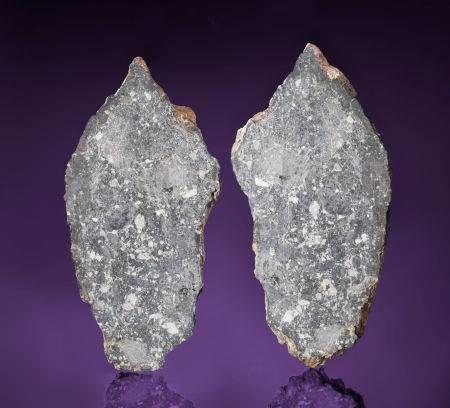 这块编号为Dar al Gani 1058的月球岩石样品即将进行拍卖,预计其售价将达34万~38万美元