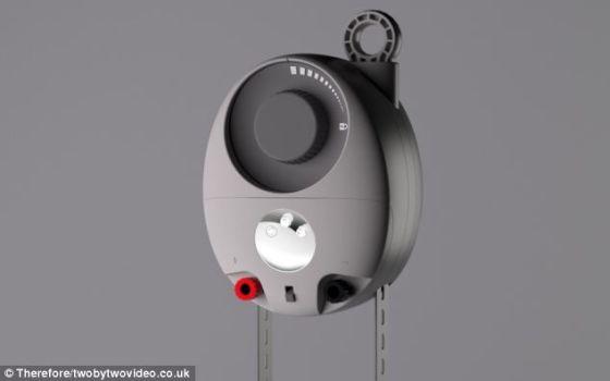 重力灯通过悬挂一个装满岩石、尘土或沙子等重物的袋子发电。