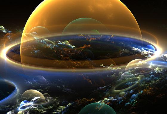 宇宙或许就像一片永恒沸腾的海洋,每一处都不断有气泡出现和扩张,而我们就处在一个137亿年前产生的大气泡中。来源:www.mystics.eu