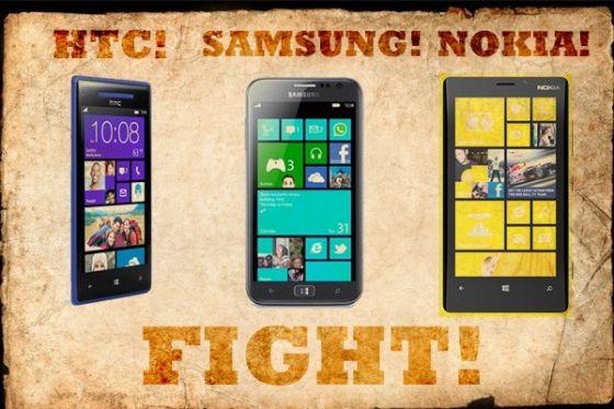 各厂商的WP8手机都像一个模子里出来的产物,毫无个性。