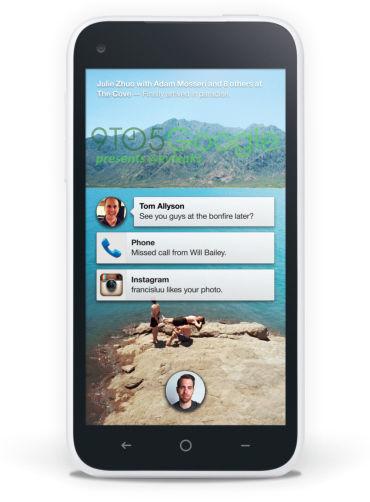 这款手机中将提供名为Facebook Home的主页屏幕应用