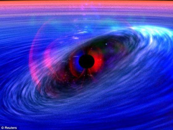 饥不择食:黑洞是一个时空临界点,这里的引力可以防止任何东西逃逸出来,其中包括光