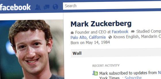 第一位Facebook用户