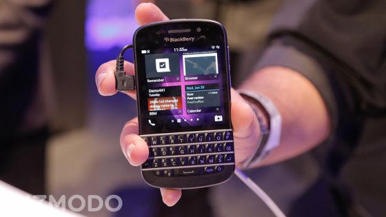 黑莓Q10智能手机
