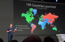 谷歌地图已登陆199个国家和地区
