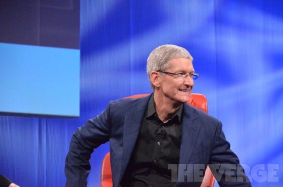 苹果公司CEO库克出席《华尔街日报》D11科技大会