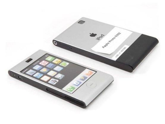 基于iPod Touch的第一代iPhone原型机