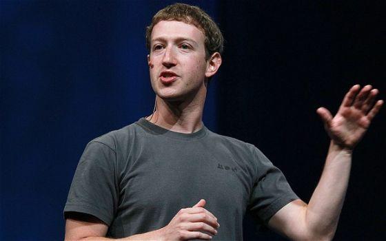 Facebook CEO马克・扎克伯格