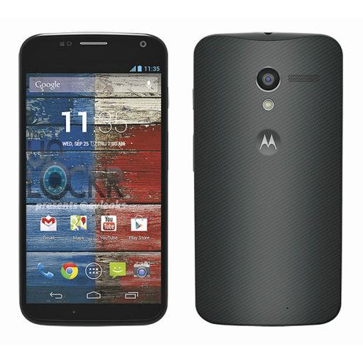摩托罗拉移动新款旗舰手机Moto X的官方宣传照片