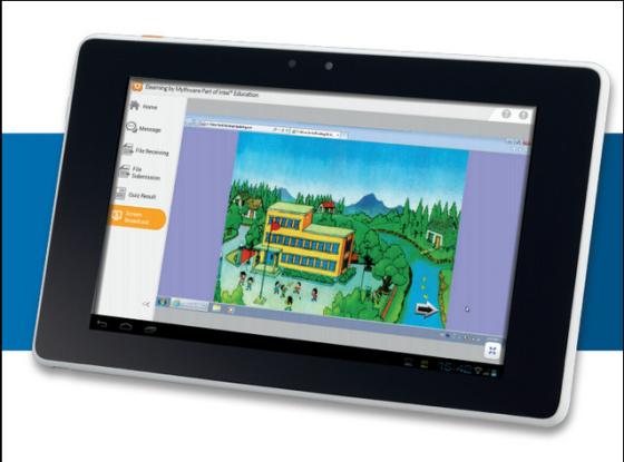 英特尔发布两款教育平板