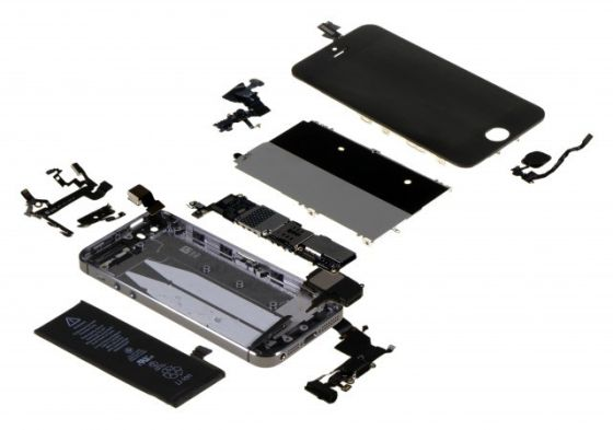 iPhone 5s 拆解图